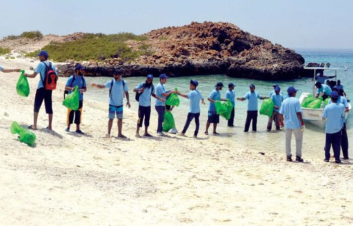 In Oman, pioneer steps for the environment