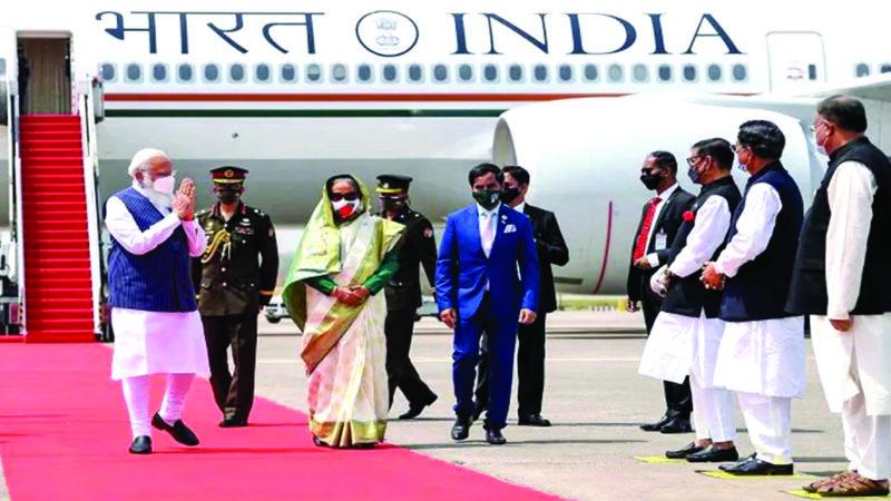 PM Modi uses new Air India One aircraft for his visit to Bangladesh