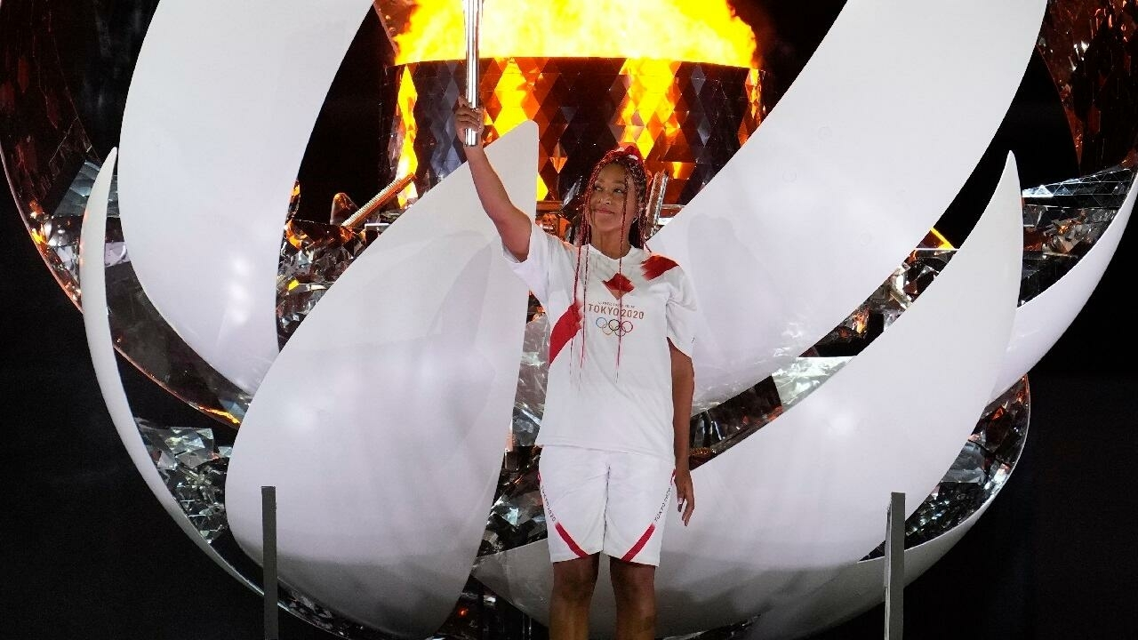 Naomi Osaka, symbol of the start of the Olympic Games