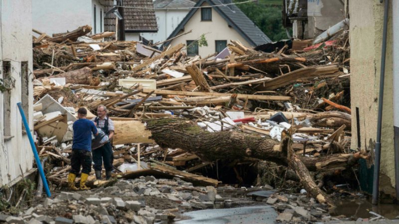 Rescue workers scramble to find survivors as death toll from European floods rises above 150